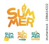 summer hot logo collection for...