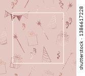 birthday. illustration for... | Shutterstock .eps vector #1386617228