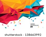 vector background eps10 | Shutterstock .eps vector #138663992