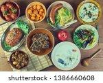 belgian national  cuisine ...   Shutterstock . vector #1386660608