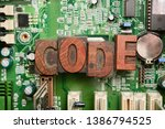 Small photo of Computer code. Coding for computer programming and developing