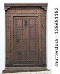 Old Studded Wooden Door