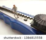 running mini figure man toy at... | Shutterstock . vector #1386815558