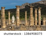 roman ruins of baelo claudia ...   Shutterstock . vector #1386908375