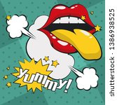 Pop Art Vibrant Retro Card...