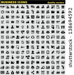 business icons. web  finance ... | Shutterstock .eps vector #138694592
