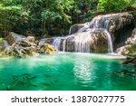 View Beautiful Erawan Waterfall ...