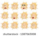 vector illustration of a cute...   Shutterstock .eps vector #1387065008