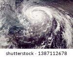 Category 5 Typhoon Satellite...