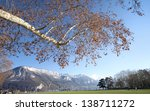 annecy view  france. | Shutterstock . vector #138711272