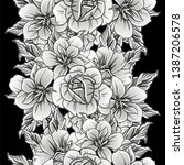 abstract elegance seamless...   Shutterstock . vector #1387206578