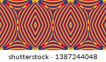 color seamless pattern with... | Shutterstock .eps vector #1387244048