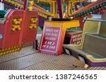 Fun Fair Ride Signs. Brightly...