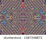 color seamless pattern with... | Shutterstock .eps vector #1387248872