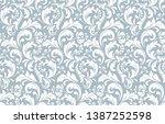 flower pattern. seamless white...   Shutterstock . vector #1387252598