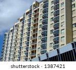 modern condominium  sydney. | Shutterstock . vector #1387421