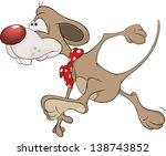 little mouse. cartoon | Shutterstock .eps vector #138743852