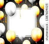 celebration luxury template...   Shutterstock .eps vector #1387609025