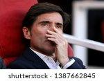 manager of valencia  marcelino  ... | Shutterstock . vector #1387662845