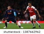 pierre emerick aubameyang of... | Shutterstock . vector #1387662962