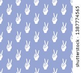 seamless vector pattern with...   Shutterstock .eps vector #1387774565