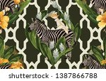 vintage beautiful and trendy...   Shutterstock . vector #1387866788