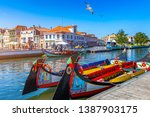 Traditional Boats On The Canal...