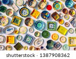 collection of colorful... | Shutterstock . vector #1387908362