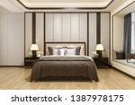 3d rendering luxury modern... | Shutterstock . vector #1387978175