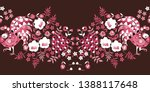 seamless border with fairy... | Shutterstock .eps vector #1388117648