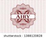 red passport money style... | Shutterstock .eps vector #1388120828