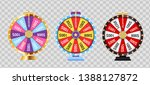 wheel of fortune  lucky icon... | Shutterstock .eps vector #1388127872