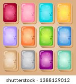 mahjong cards colorful style...