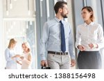 business people discussing in...   Shutterstock . vector #1388156498