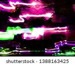 light effects. neon glow.... | Shutterstock . vector #1388163425