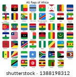 all flags of africa square... | Shutterstock .eps vector #1388198312