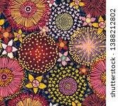 australian flora  seamless... | Shutterstock .eps vector #1388212802