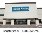 Small photo of Columbus,Ohio/USA April 24, 2019: Tuesday Morning Corporation is an discount, off-price retailer specializing in domestic and international, designer and name-brand closeout merchandise