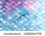 colorful watercolor abstract...   Shutterstock . vector #1388306798