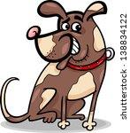 cartoon vector illustration of... | Shutterstock .eps vector #138834122