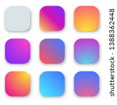 vivid smooth gradient rounded...