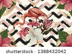vintage beautiful and trendy... | Shutterstock . vector #1388432042
