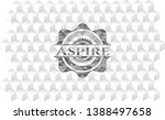 aspire grey emblem with... | Shutterstock .eps vector #1388497658