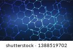 abstract blue vector background ... | Shutterstock .eps vector #1388519702