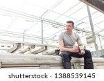 confident mature male botanist... | Shutterstock . vector #1388539145