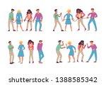 set of professional people...   Shutterstock .eps vector #1388585342