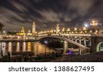 Night In Paris. View Of The...