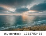 view of the pacific ocean at... | Shutterstock . vector #1388753498