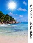 sunshine coast lagoon seascape | Shutterstock . vector #138877928