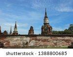 ayutthaya province  thailand  ...   Shutterstock . vector #1388800685